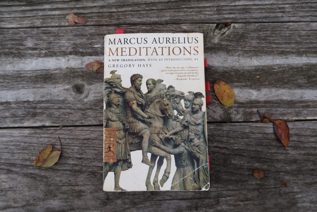 an overview of the christian principles in marcus aurelius meditations Summary within a few pages of the beginning of the meditations, marcus aurelius and the spirit is much like that of the christianity that marcus aurelius.