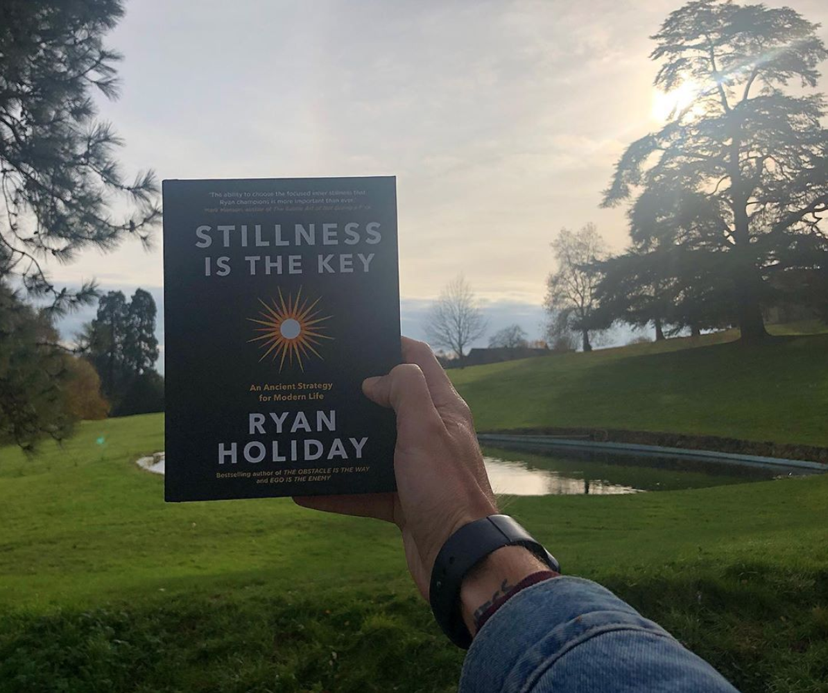 Can You Be Still? - RyanHoliday.net